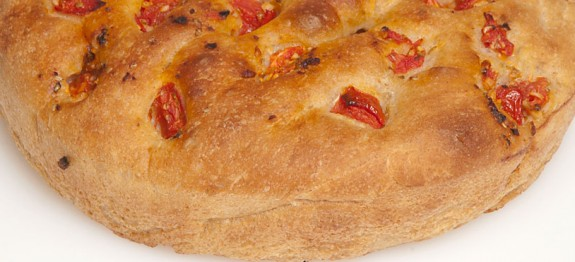 This focaccia recipe is made using the basic stand mixer bread dough ...
