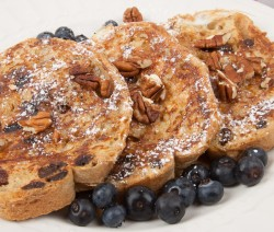 Homemade Raisin French Toast