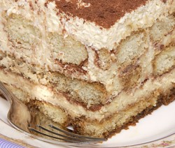 Serving of Homemade Tiramisu