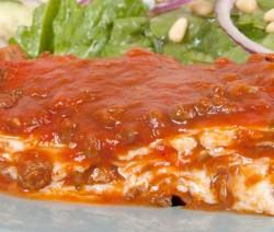 Homemade Lasagna for Four