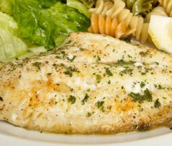 Broiled White Fish Fillet