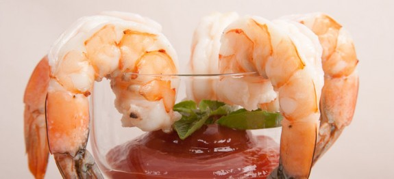 Homemade Jumbo Shrimp Cocktail