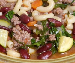 Meat and Vegetable Soup