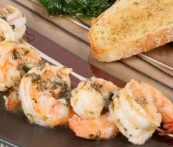 Homemade Shrimp Scampi