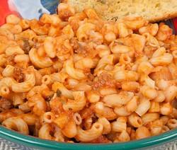 Fagioli e Pasta (beans and macaroni)