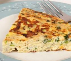 Homemade Zucchini Frittata