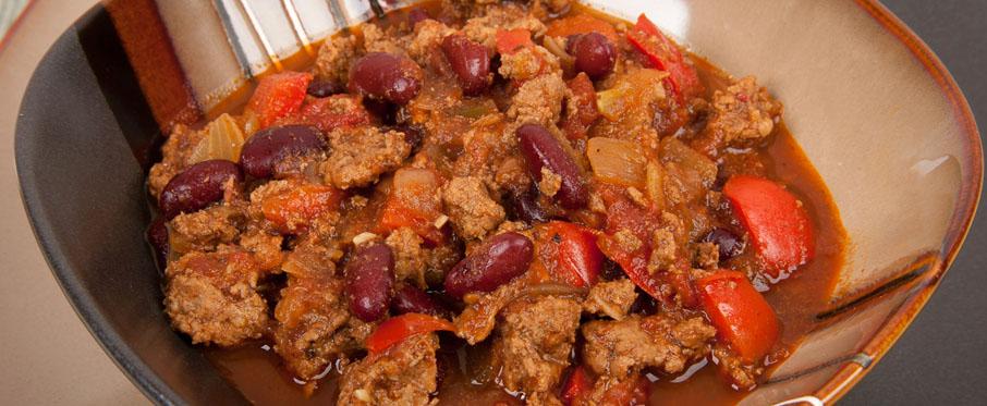 Spicy Turkey Chili Recipe| Italian Mediterranean Diet