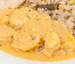 Homemade Shrimp Curry