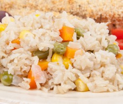 Homemade Vegetable Pilau