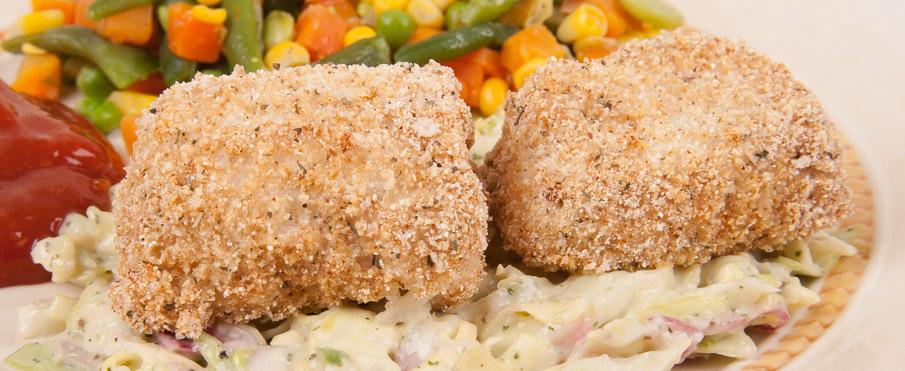 Oven fried fis recipeitalian mediterranean diet for Fried fish calories