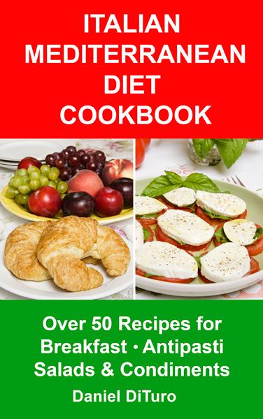 Italian Cookbook Cover : Breakfast antipasti cookbook published italian
