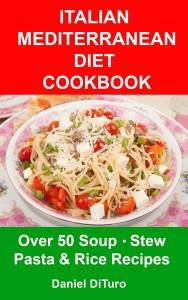 Soup & Pasta Cookbook Cover Art