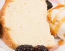 Buttermilk Pound Cake with Ice Cream