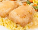Batter Fried Fish with Lemon Sauce
