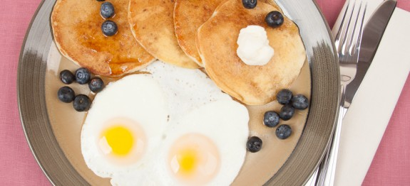 Fried Eggs and Pancakes