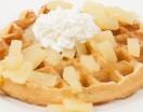 Pineapple Belgian Waffle