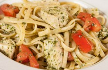 Easy Pasta with Pesto and Grilled Chicken Recipe