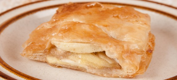 Easy Apple Strudel -Italian Mediterranean Diet