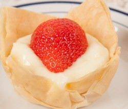 Fillo Pudding Tart