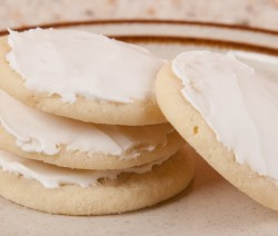 Lemon Cookie with Royal Icing