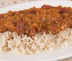 Homemade Madras Lentils