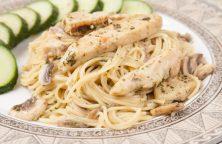 Pasta With Mushroom Pesto Sauce