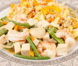 One-Pan Chinese Shrimp and Vegetables
