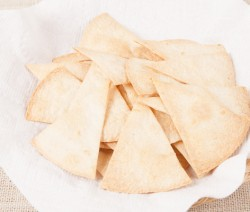 Oven Baked Flour Tortilla Chips