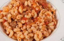 Pasta Fagioli With Turkey Sausage Sauce