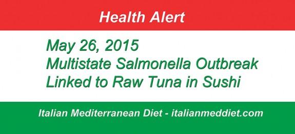 Italian Med Diet Raw Tuna Health Alert
