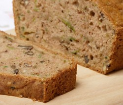 Homemade Zucchini Nut Bread