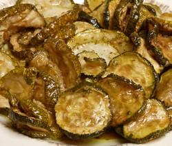 Homemade Marinated Zucchini