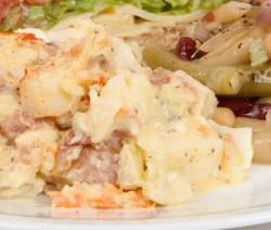 Red Potato Salad and Four Bean Salad