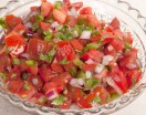 Homemade Pico de Gallo Salsa