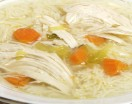 Homemade Chicken Soup with Pasta