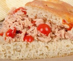 Italian Style Tuna Salad Sandwich
