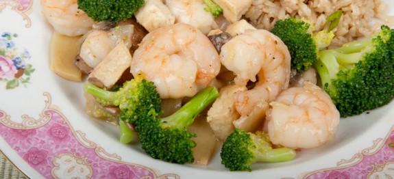 Stir Fried Shrimp with Broccoli