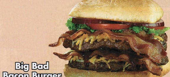 Big Bad Bacon Burger