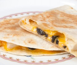 Chicken and Olive Quesadilla