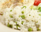 Risotto with Green Peas