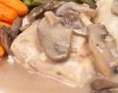 Slow Cooker Mushroom Chicken