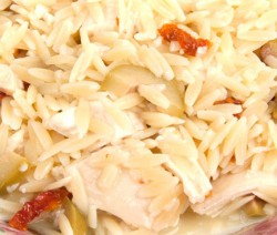 Orzo With Sun Dried Tomatoes