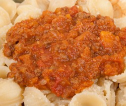 Homemade Bolognese Style Pasta Sauce