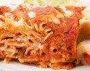 Homemade Egg Noodle Lasagna