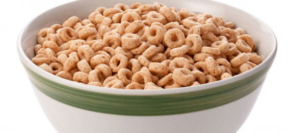 Bowl of Oat Cereal