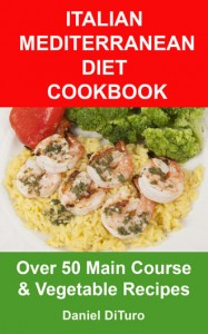 Italian Med Diet Main Course Cookbook Cover