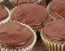 Glazed Chocolate Cupcakes