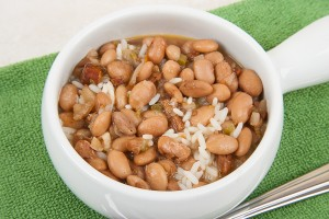 Charro Beans and Rice