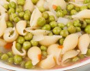 Green Peas and Pasta