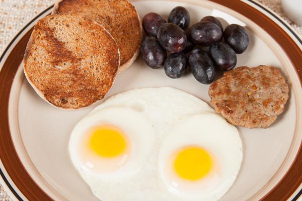 Homemade Sausage Egg Muffin Breakfast
